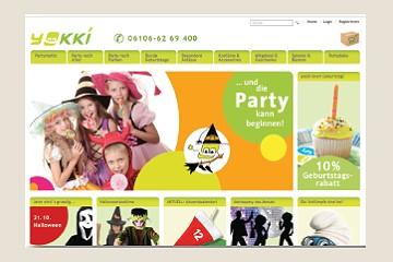 WEBSITE UND WEBSHOP ... UND DIE PARTY KANN BEGINNEN